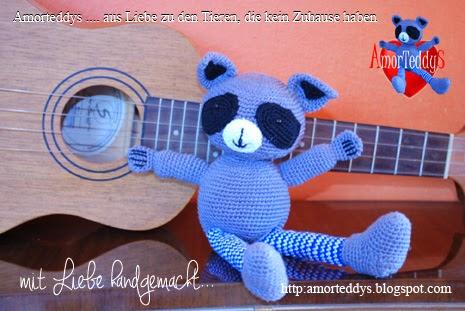Amorteddys - Häkeltiere wie Maus, Drache, Waschbär ...
