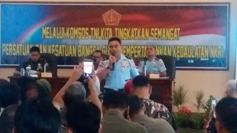 Kogartap II/Bandung Gelar Komsos TNI