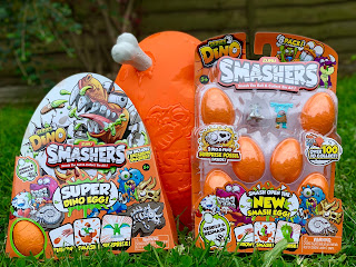 Smashers Series 3 packs and Epic Dino Egg