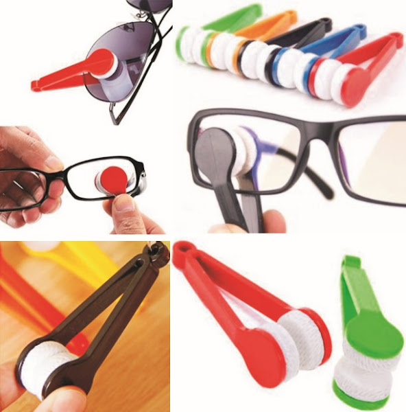 Eyeglass Cleaner: Mini Microfiber Soft Brush for Cleaning Spectacles