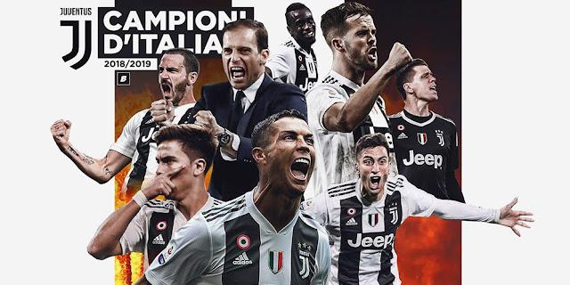 Klub Raksasa Juventus Berhasil Menjadi Juara Italia Seria A 2018-2019