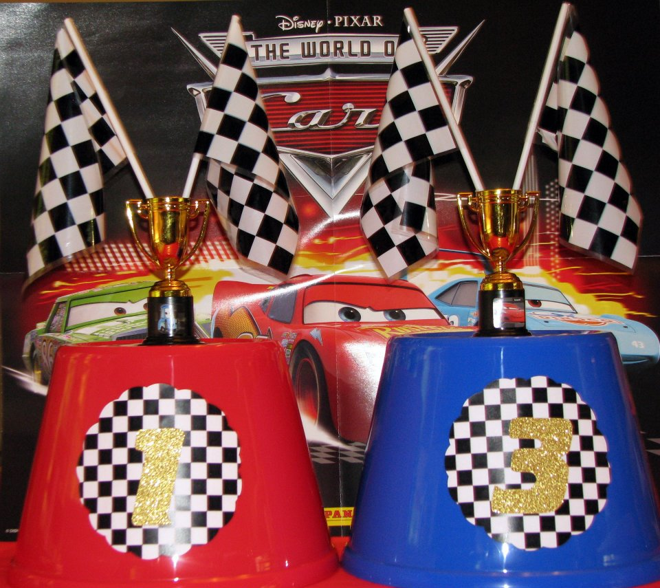 """The Shower Planner: A """"Cars""""-themed Birthday Party"""