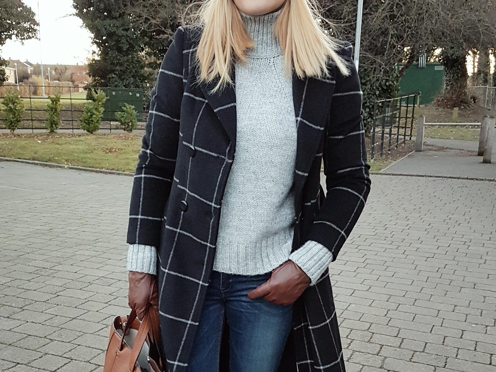 Maxi coat & turtleneck czyli strój dnia