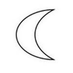 half moon in spanish
