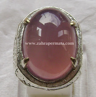 Cincin Batu Lavender Batu Raja