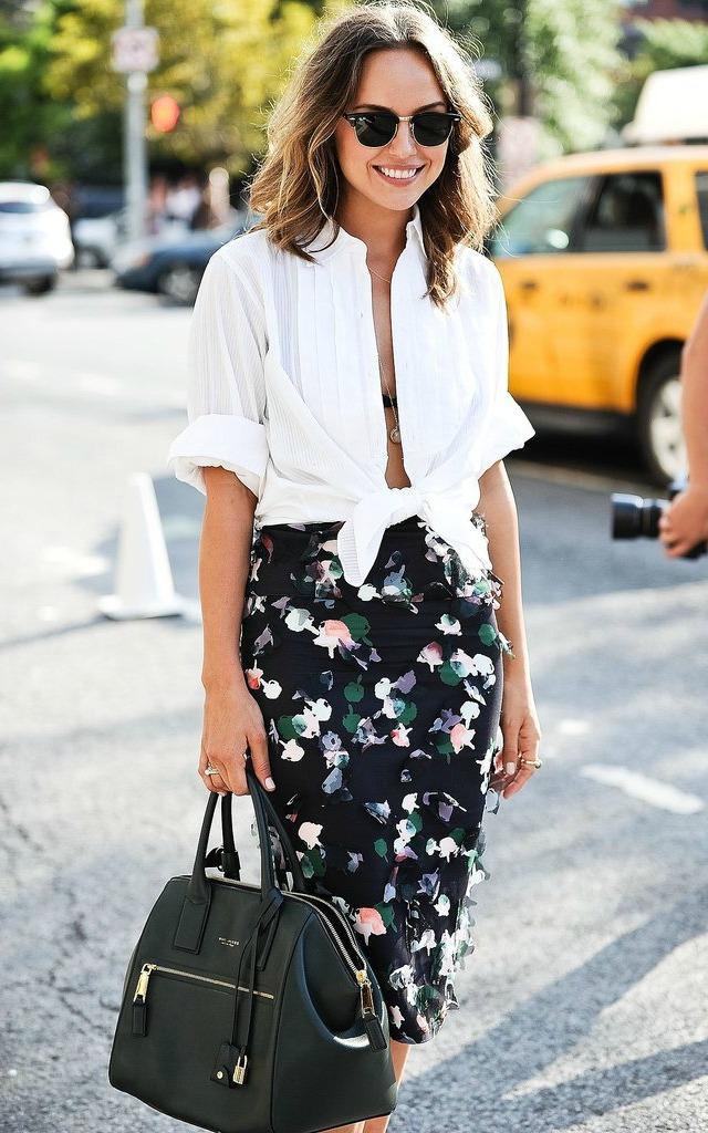 Como usar look do serviço no dia a dia - camisa social