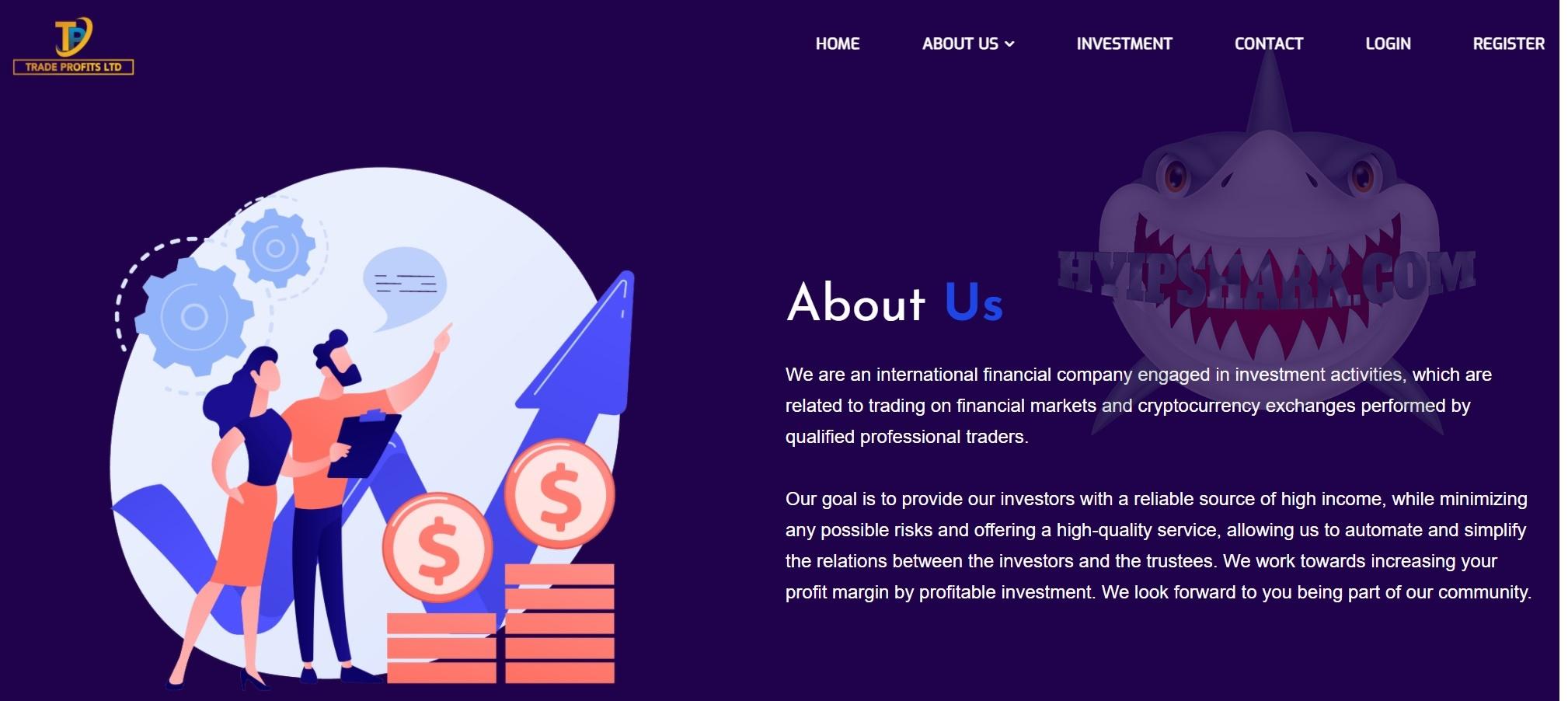 review hyip : tradeprofitltd.com