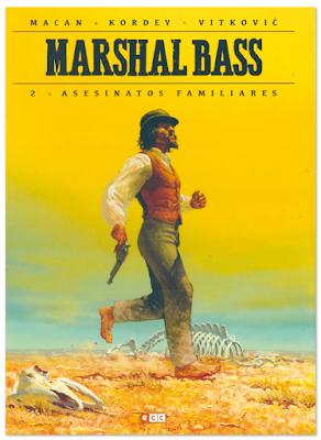 marshall bass 2 asesinatos familiares Igor Kodey Darko Macan comic western