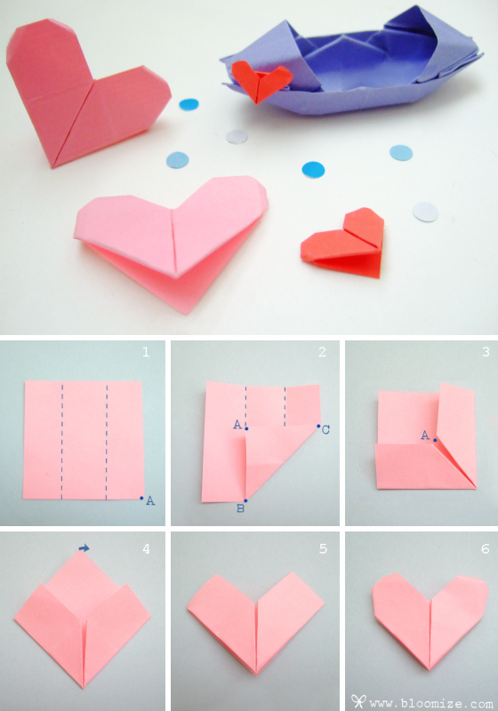 what to write on a paper heart