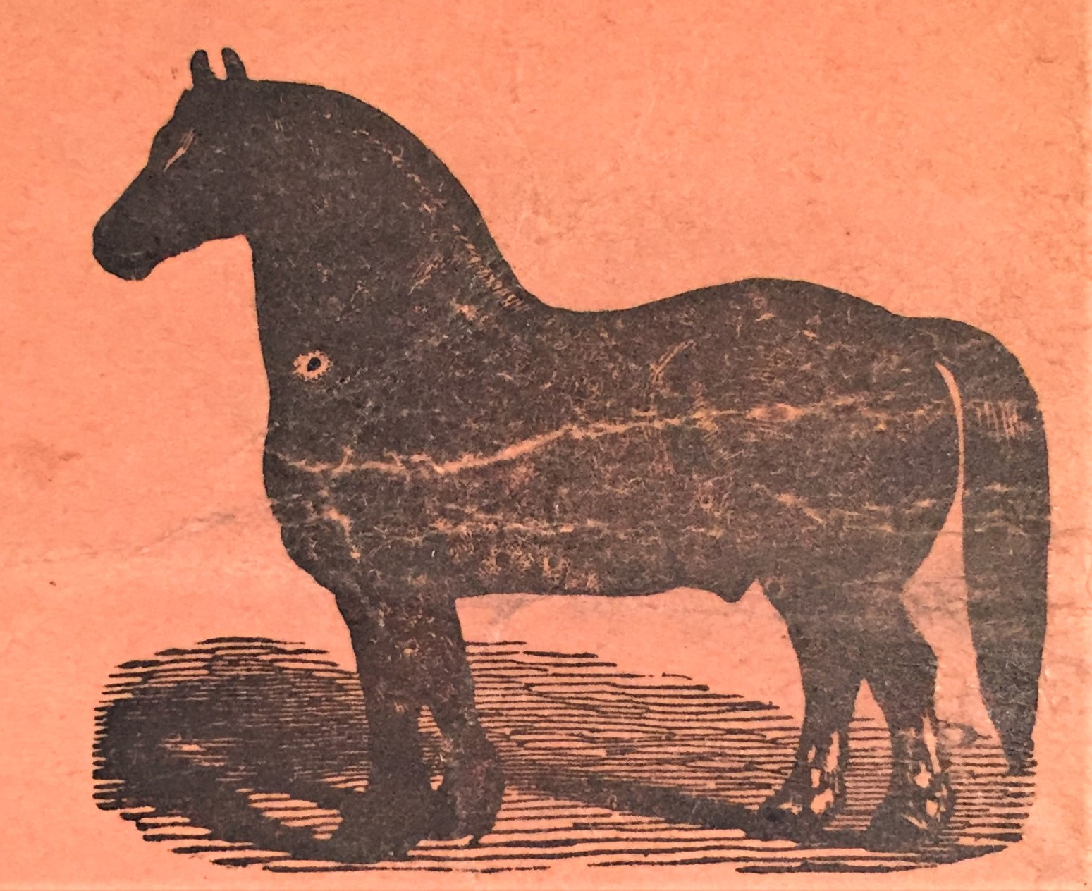 Early Hagen Renaker Helen Perrin Farnlund Palomino Draft Foal