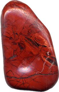 jaspe vermelho polido