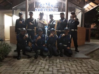 Antisipasi Gangguan Kantibmas,Binmas Srengseng Berikan Arahan Kepada Security Perumahan Intercon