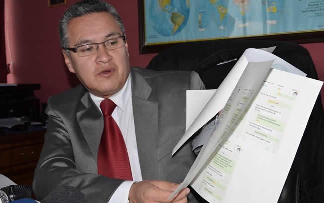 Abogado León presenta otra denuncia contra el MAS y suman siete las impugnaciones