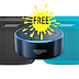 FREE Amazon Echo Dot With Every Bose Speaker You Buy