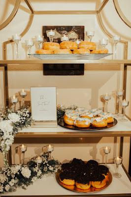 reception donut dessert