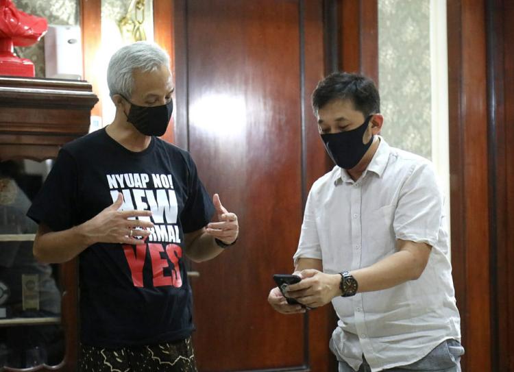 Siap Syuting di Semarang, Hanung Kulonuwun ke Ganjar