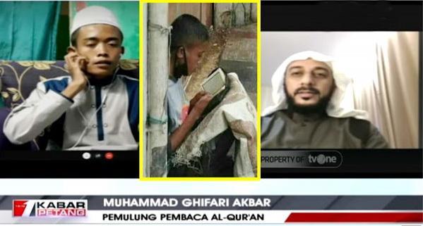 Firasat Syekh Ali Jaber: Insya Allah Akbar Jadi Imam Besar