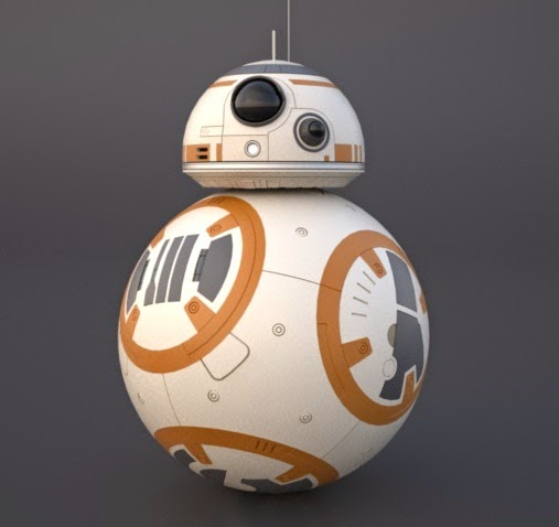 picture relating to Bb 8 Printable named Stinsons All Aspects Star Wars Weblog: BB-8: Total Scale and