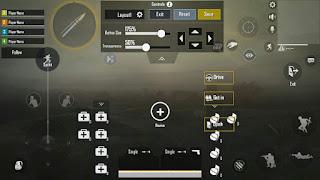 Customized PUBG Mobile Controls