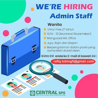 Admin Staff di Central SPS