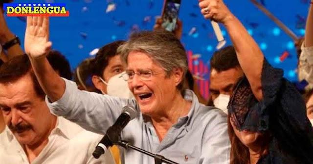Guillermo Lasso le ganó al candidato chaburro de Ecuador y es el nuevo presidente