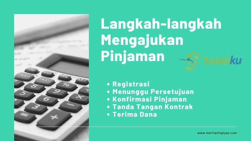 langkah mengajukan pinjaman online