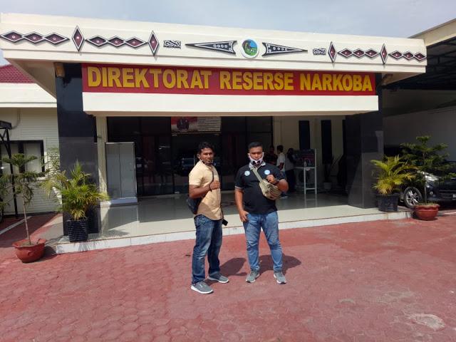 DPC LAN Tanjungbalai Pertanyakan Kasus Pemulangan DPO Warga Tanjungbalai ke Polda Sumut.
