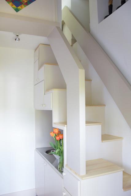 Desain Tangga Ruang Sempit Box