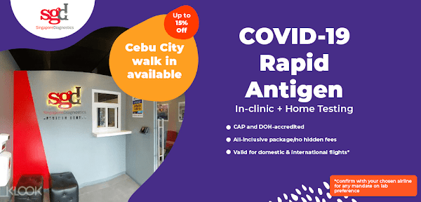 Cebu City COVID-19 Rapid Antigen Testing Home Servcie