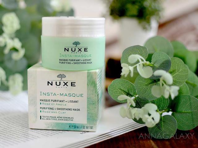 Очищающая и разглаживающая маска для лица с глиной Nuxe Insta-Masque Purifying + Smoothing Mask отзыв