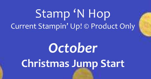 Stamp 'N Hop - Christmas Jump Start