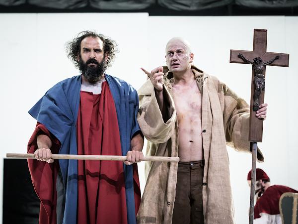 Le Grand Inquisiteur d'après Fédor Dostoïevski mise en scène Sylvain Creuzevault