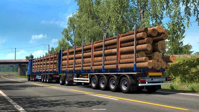Euro Truck Simulator 2 ganhará novo pacote de carretas