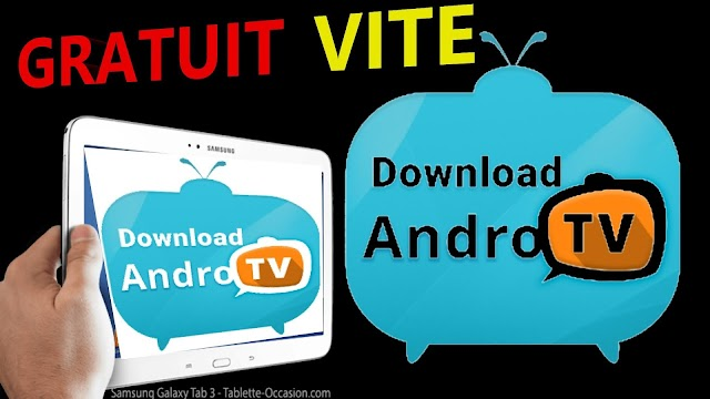 ANDRO IPTV APPLICATION ANDROID TABLETTES SMARTPHONE BOX TV