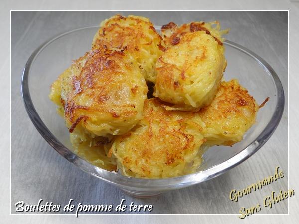 Boulettes de pommes de terre