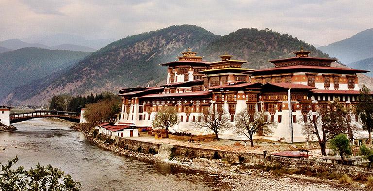 Bhutan Tashichhodzong Heritage Site