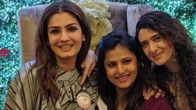 Raveena Tandon to be Nani Soon host daughter Chhaya baby shower see pics