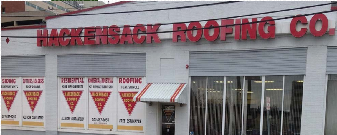 Delightful Hackensack Roofing Co. Inc., 83 First St., Hackensack, New Jersey Was Cited  For OSHA