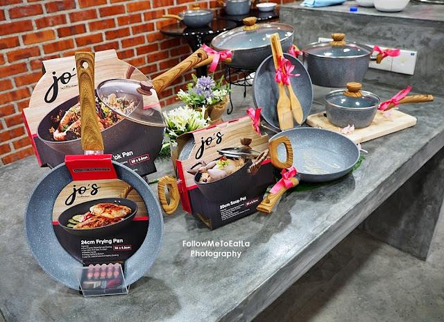 BEST NON-STICK COOKWARE FROM LITTLE HOMES JO'S MARBLE COOKWARE