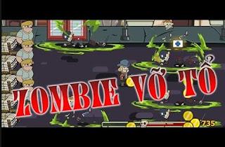 Chơi game zombie vỡ tổ