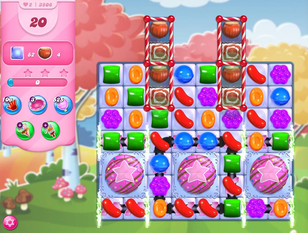 Candy Crush Saga level 3806