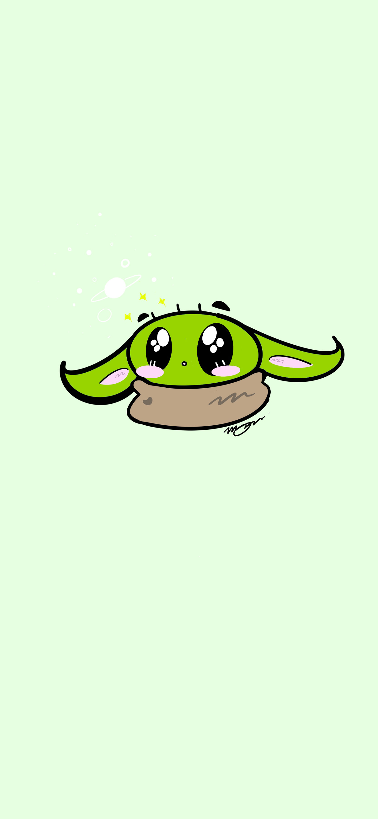 The Child Baby Yoda Background Wallpapers Heroscreen Cool Wallpapers