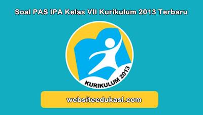Soal PAS IPA Kelas 7 Kurikulum 2013 Tahun 2019/2020