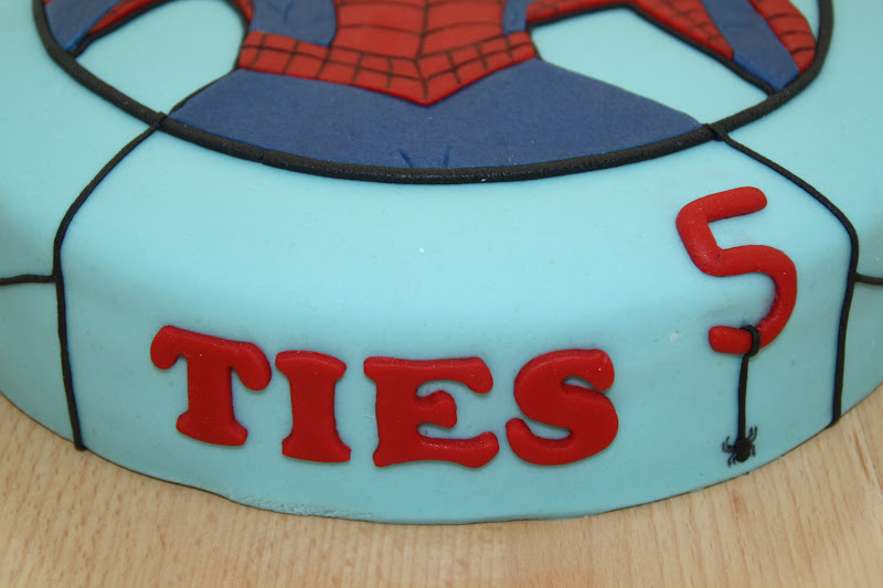 Bekend Karin's Taarten: Spiderman-taart #LJ27