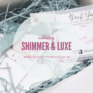 Unboxing Shimmer & Luxe - Valentines Gift Set
