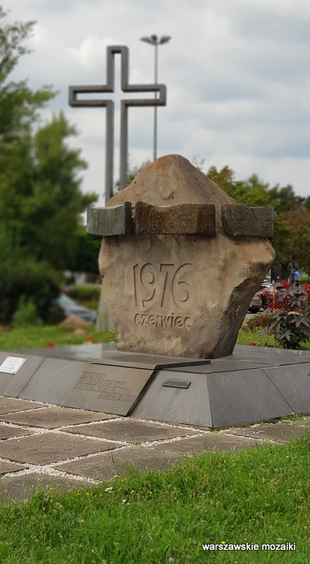 Warszawa Warsaw Ursus pomniki warszawskie strajk robotników 1976