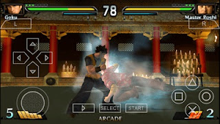 Dragon Ball Evolution PPSSPP ISO + CSO