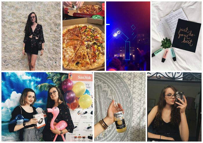 A lifestyle roundup of my week at university featuring all I've bought, watched, eaten, seen and been up to. Featuring blogcon with Lucy, the end of exams and a BBQ
