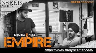 NseeB X Gurkarn Chahal Song Lyrics | Empire | MasandMusic | HzDz Visuals | Dense