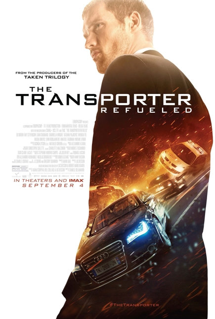 THE TRANSPORTER REFUELED (2015) movie review by Glen Tripollo